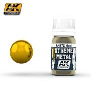 XTREME METAL Gold  30ml<br> AK472
